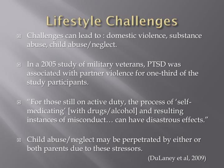 Lifestyle Challenges