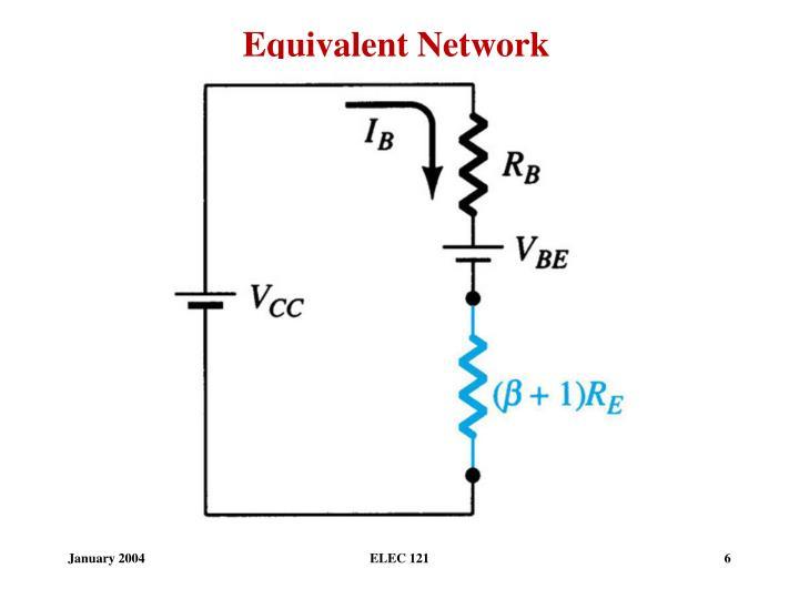 Equivalent Network
