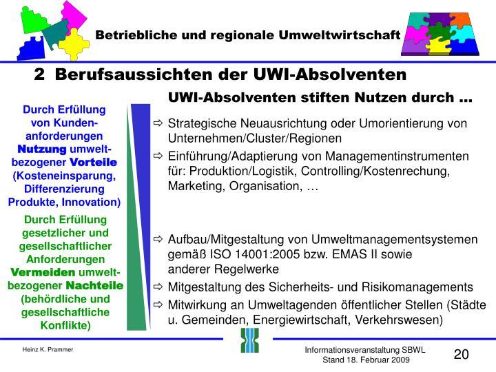Betriebliche und regionale Umweltwirtschaft