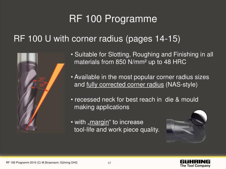 RF 100 Programme