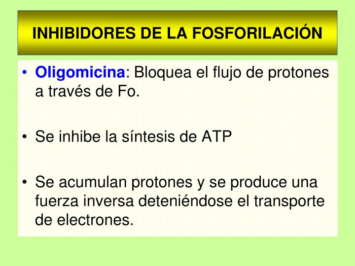 INHIBIDORES DE LA FOSFORILACIÓN