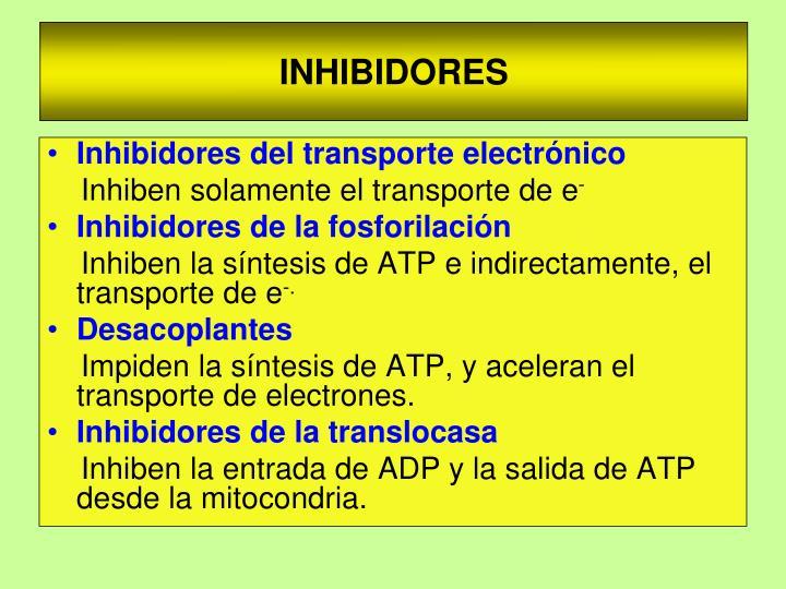 INHIBIDORES