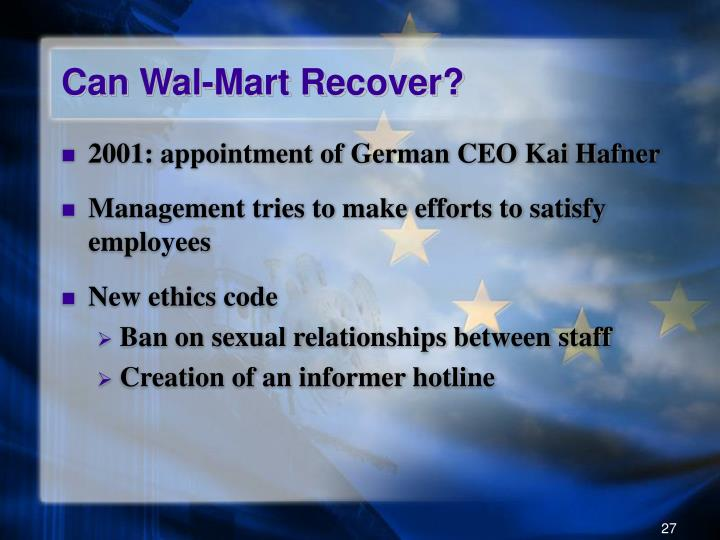 Can Wal-Mart Recover?