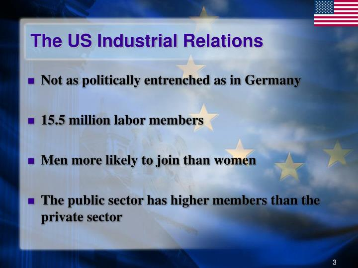 The US Industrial Relations