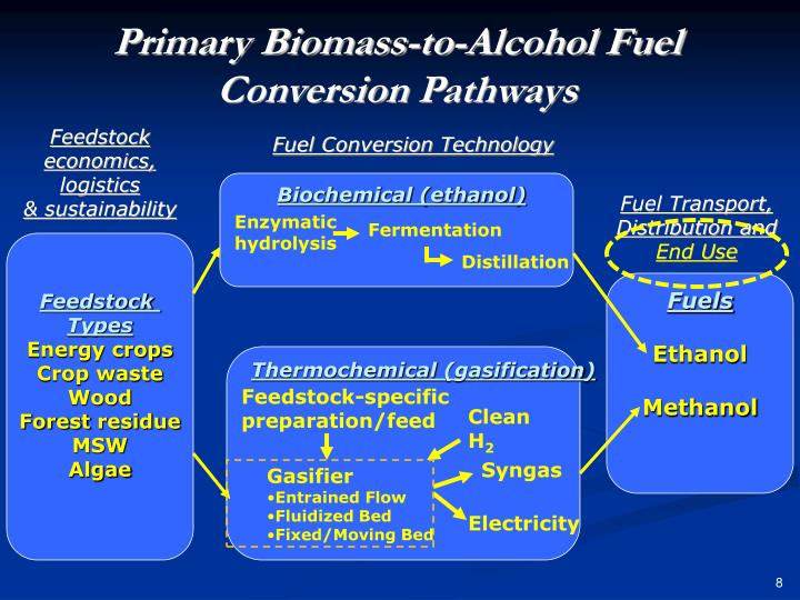 Primary Biomass-to-Alcohol Fuel