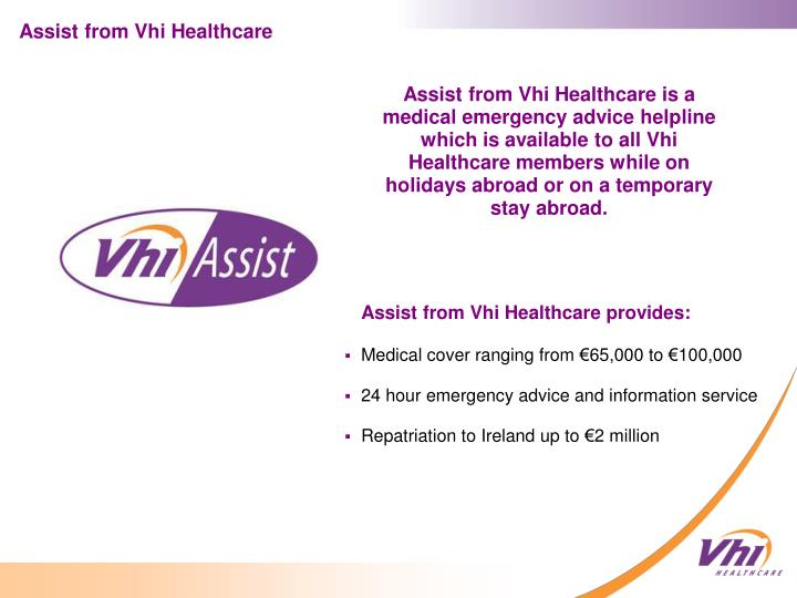 Assist from Vhi Healthcare