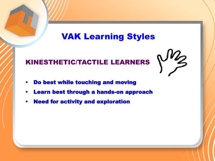 VAK Learning Styles