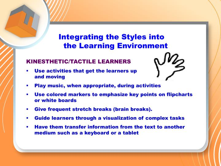 Integrating the Styles into