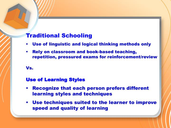Traditional Schooling