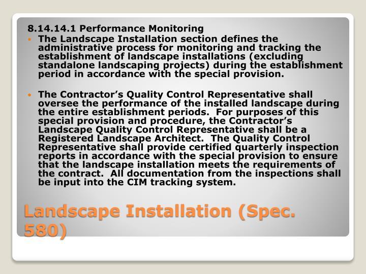 8.14.14.1 Performance Monitoring