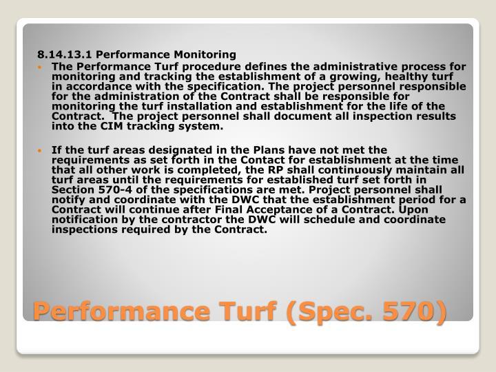 8.14.13.1 Performance Monitoring