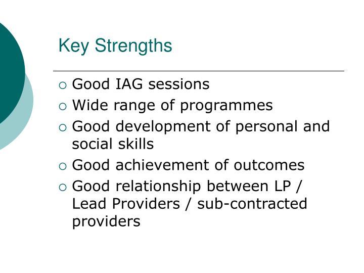 Key Strengths