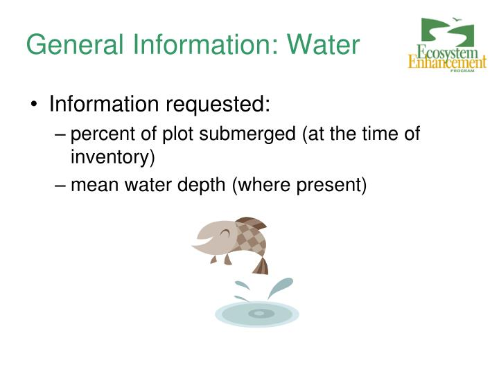 General Information: Water
