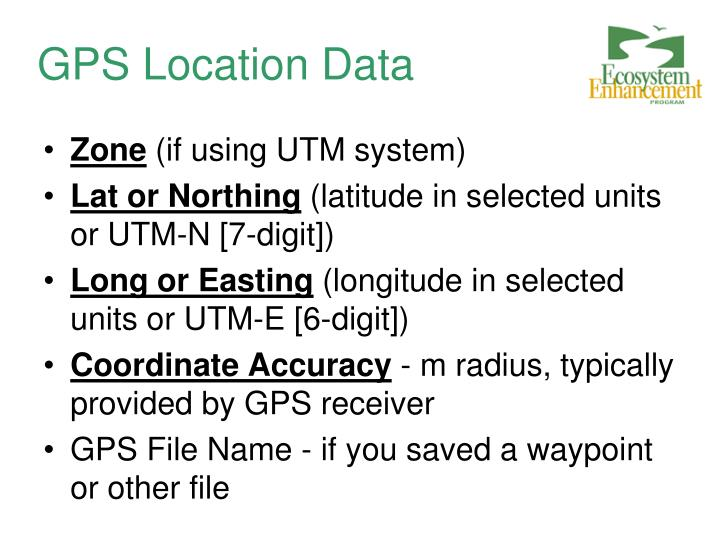 GPS Location Data