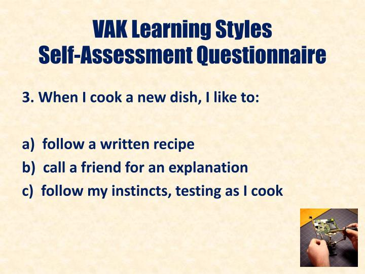 VAK Learning Styles