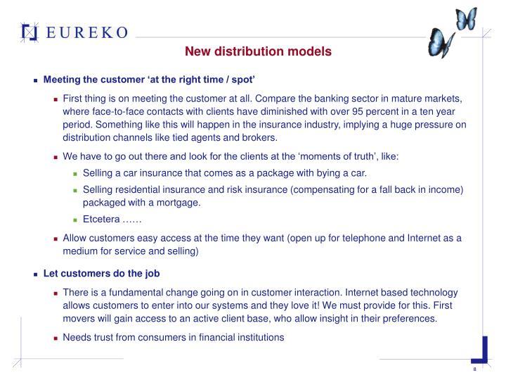 New distribution models