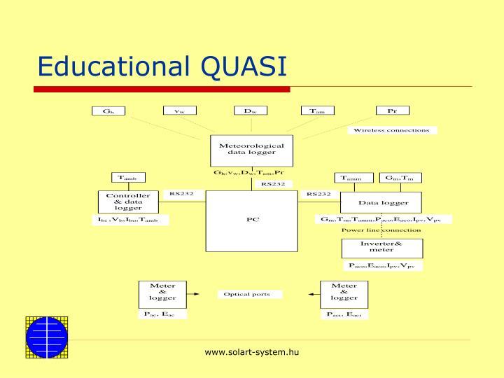 Educational QUASI