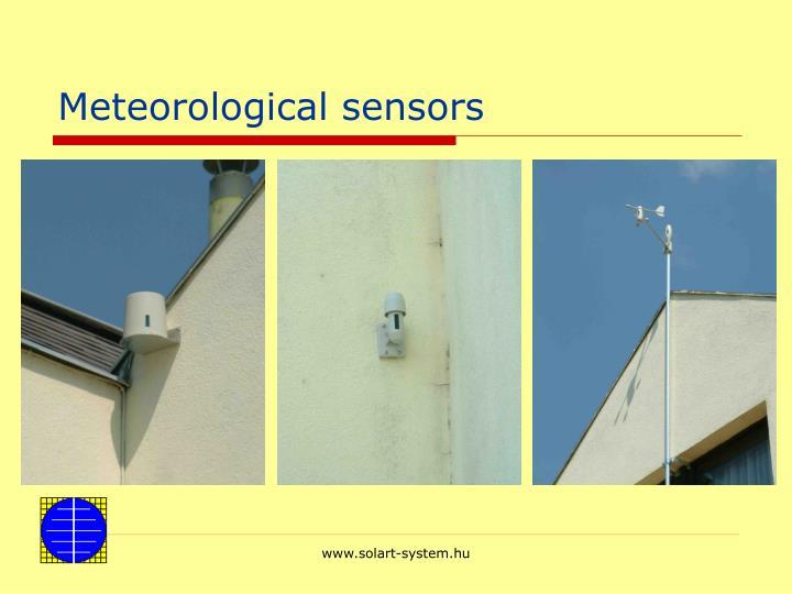 Meteorological sensors