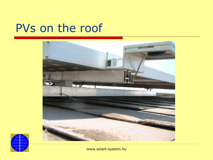 PVs on the roof