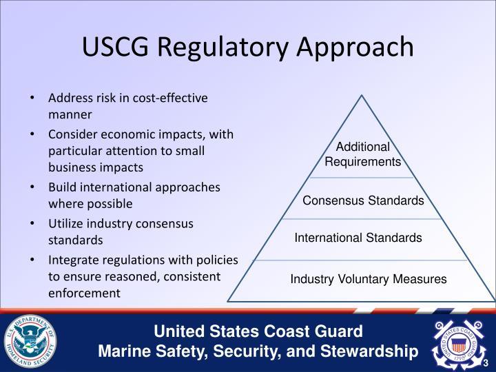 USCG Regulatory Approach