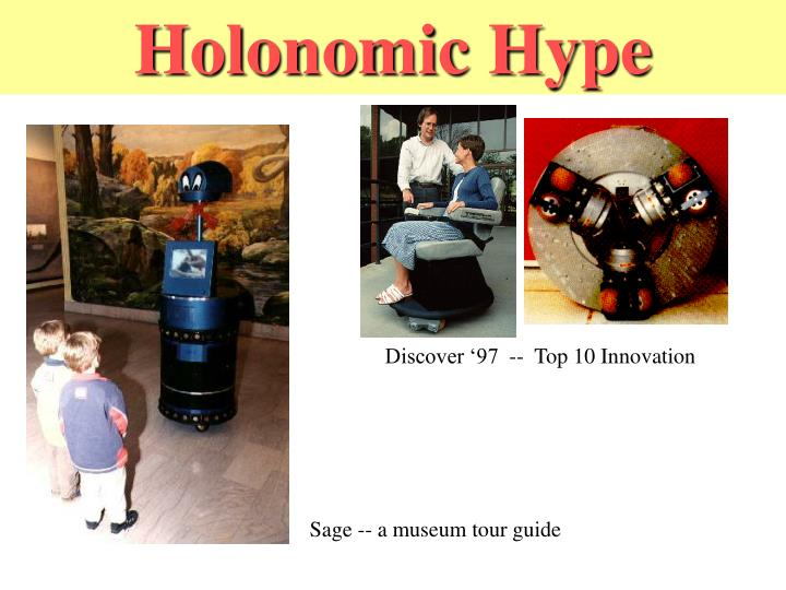 Holonomic Hype