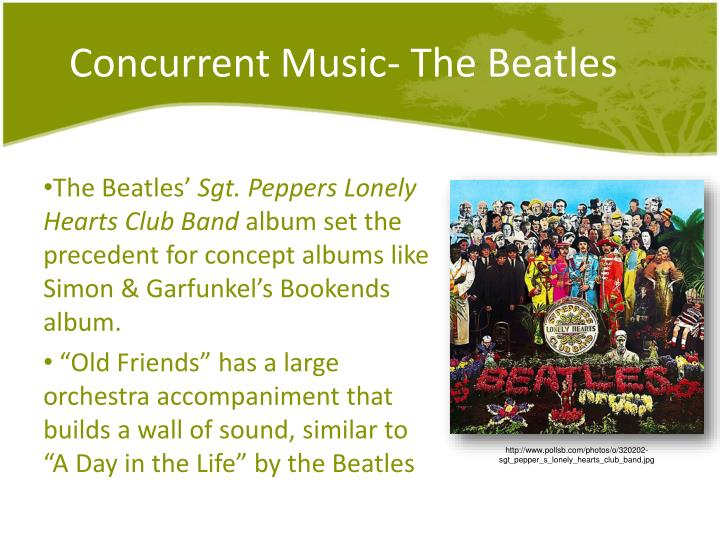 Concurrent Music- The Beatles
