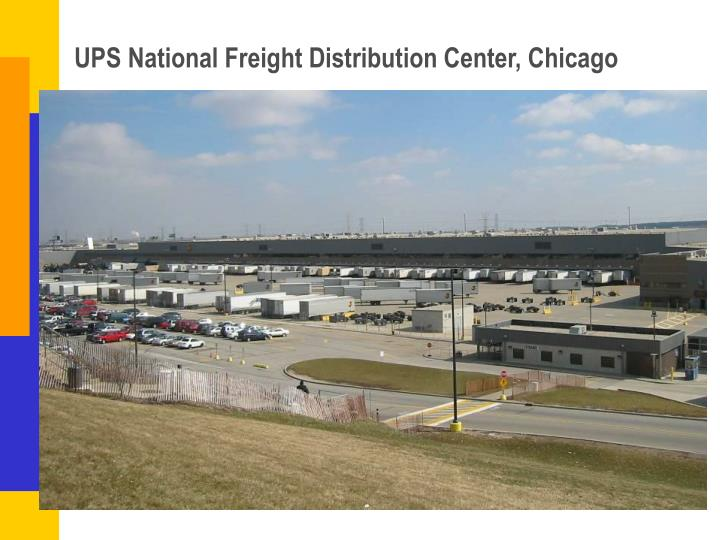 UPS National Freight Distribution Center, Chicago