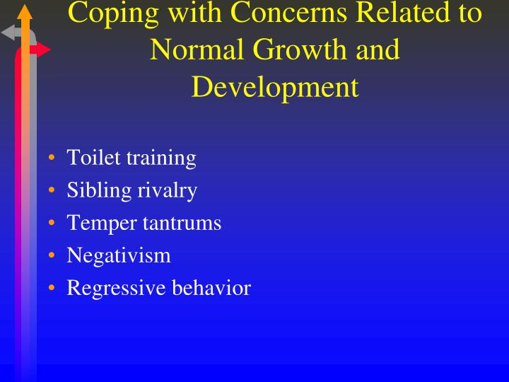 Coping with Concerns Related to Normal Growth and Development
