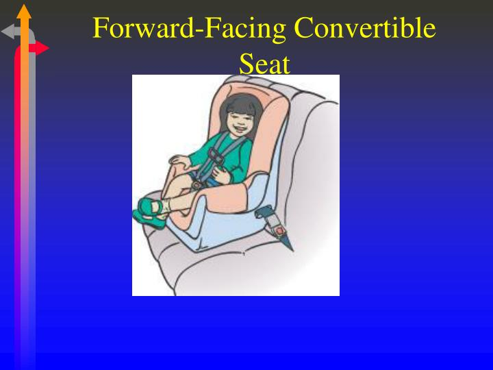 Forward-Facing Convertible Seat