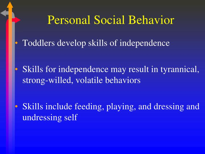 Personal Social Behavior