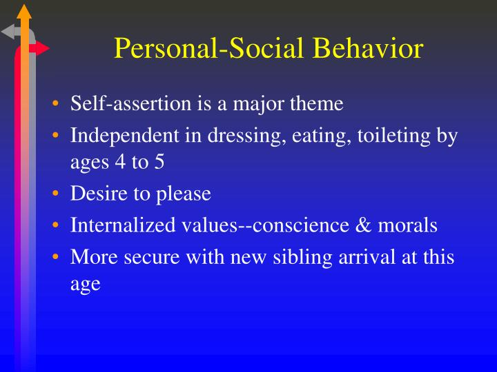 Personal-Social Behavior