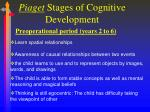 piaget stages of cognitive development1