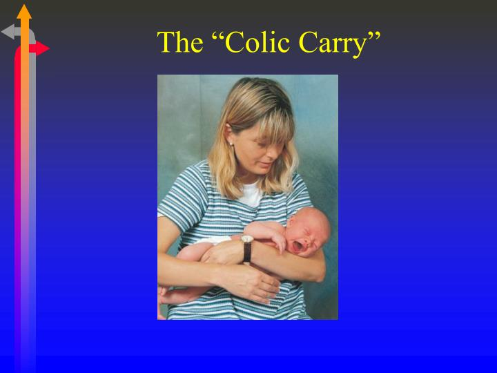 "The ""Colic Carry"""
