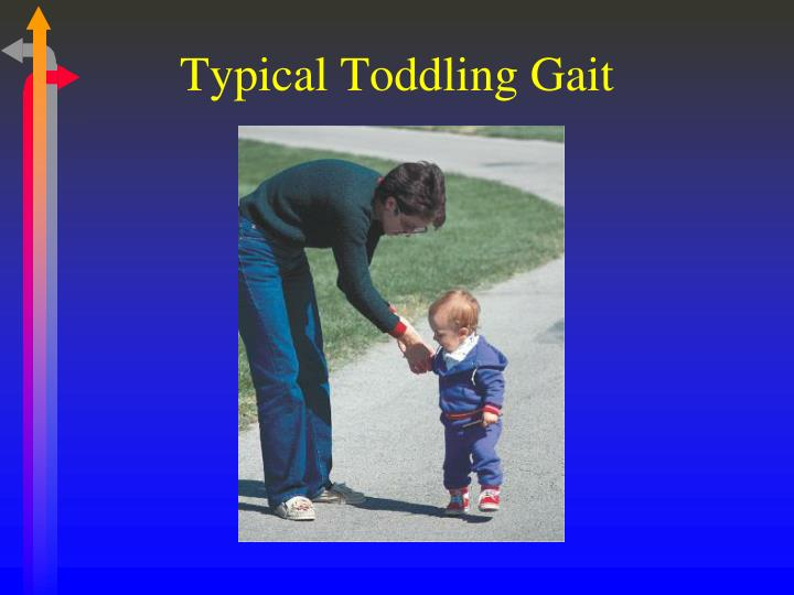Typical Toddling Gait