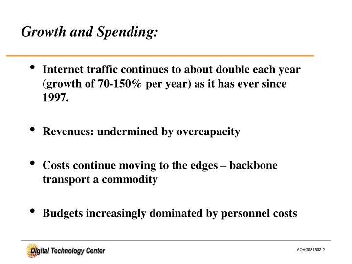 Growth and Spending: