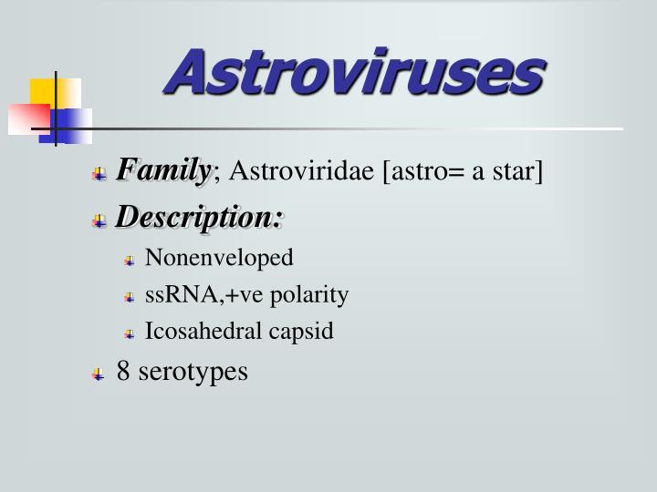 Astroviruses