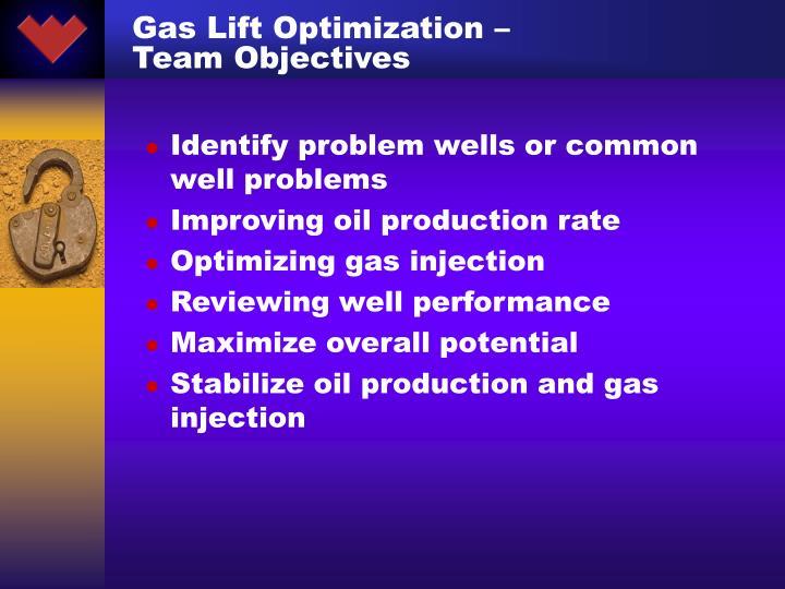 Gas Lift Optimization –