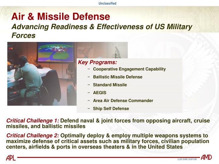Air & Missile Defense