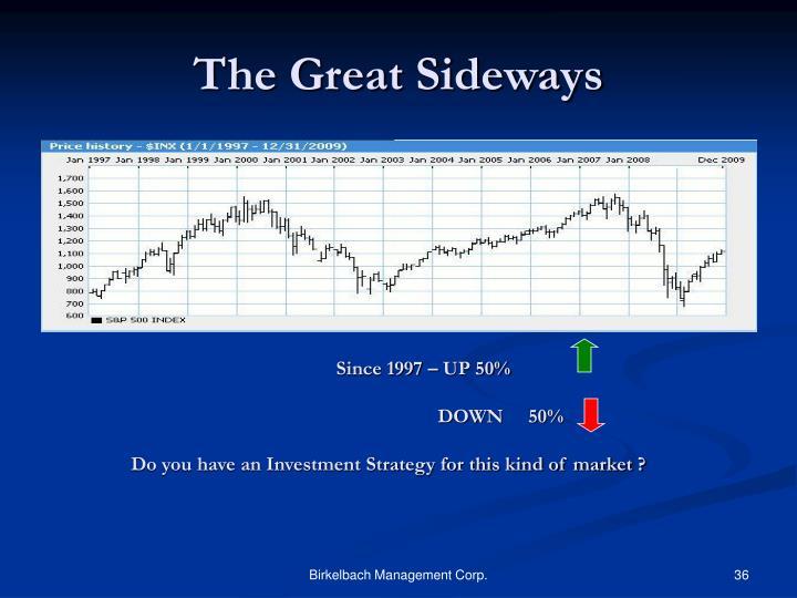 The Great Sideways