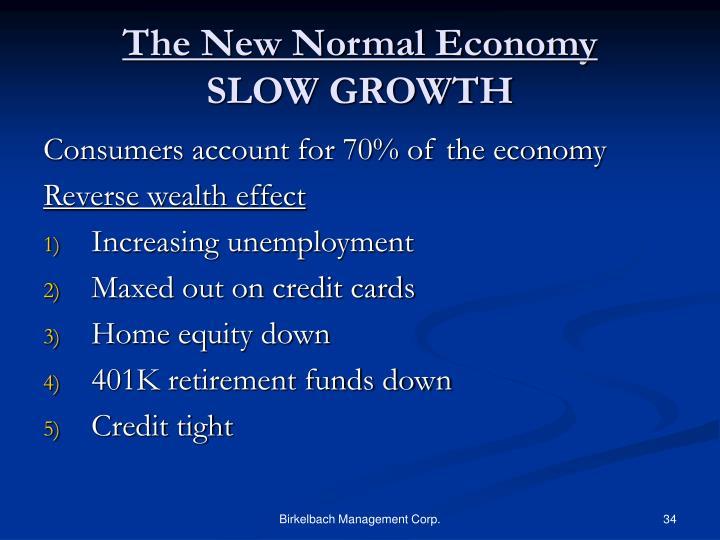 The New Normal Economy