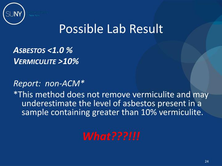 Possible Lab Result