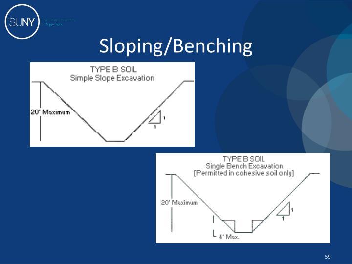 Sloping/Benching