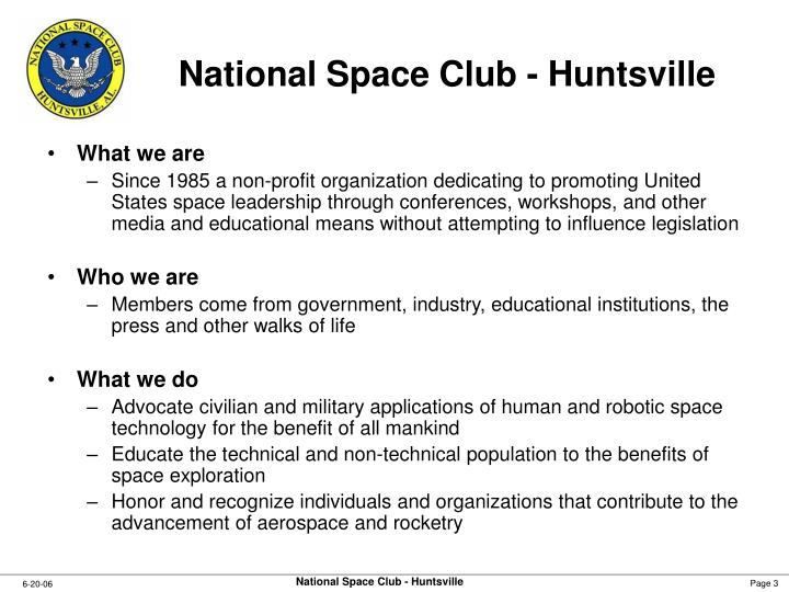 National space club huntsville1