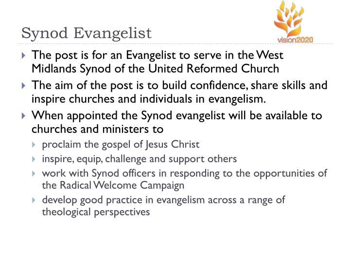 Synod Evangelist
