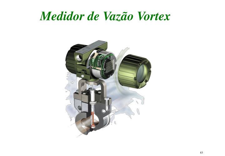 Medidor de Vazão Vortex