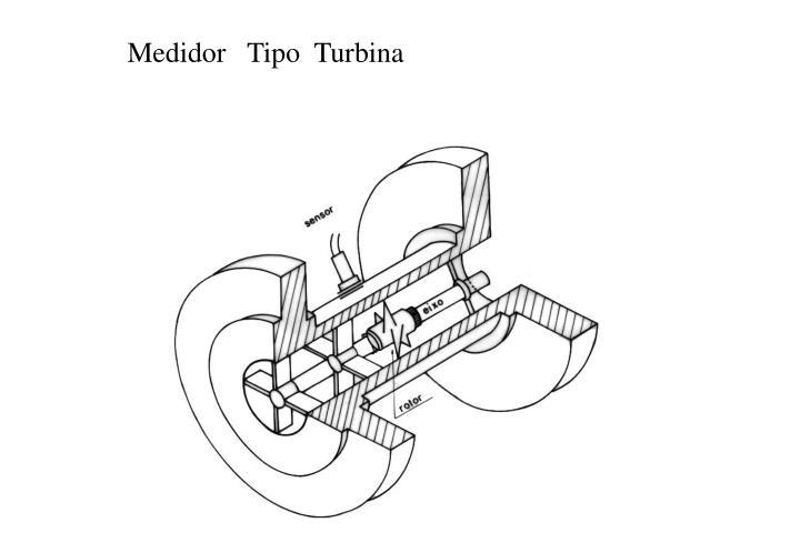 Medidor   Tipo  Turbina