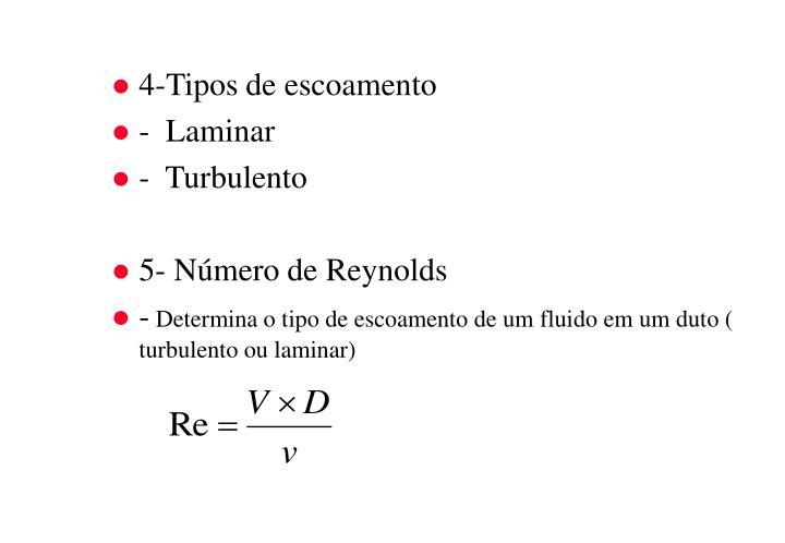 4-Tipos de escoamento