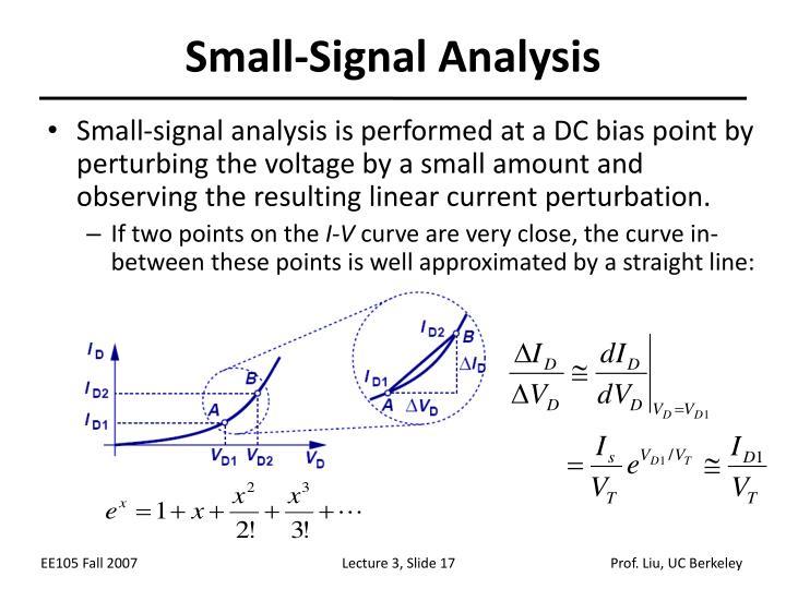 Small-Signal Analysis