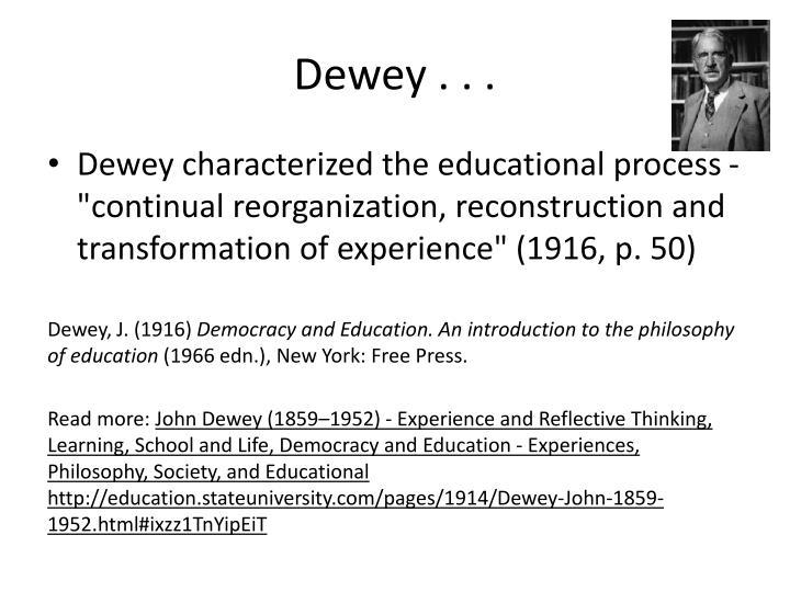 Dewey . . .