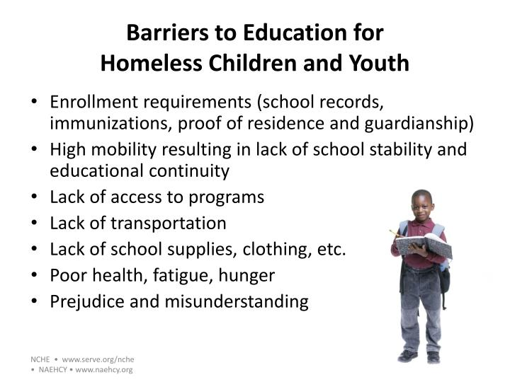 Barriers to Education for